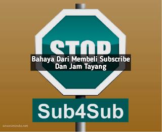 Bahaya Membelu Subscribe Dan Jam Tayang