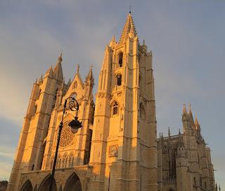 Muestra catedral de Llión (España)