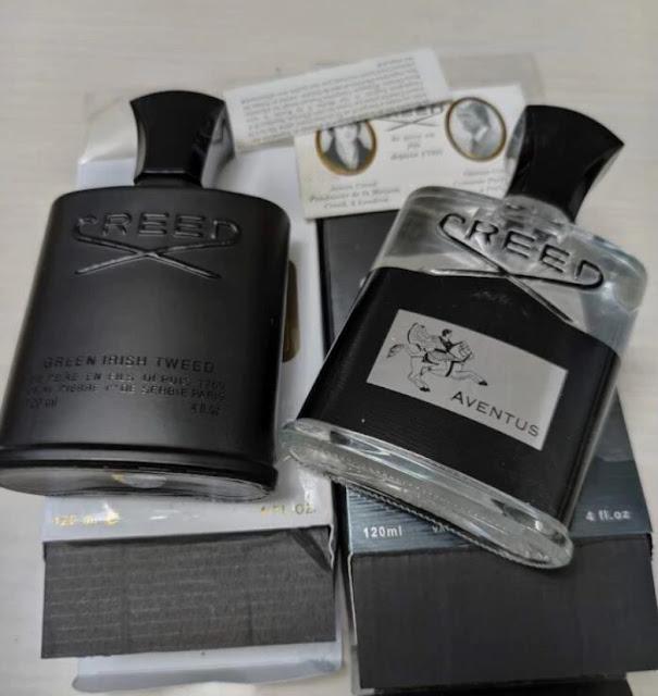 Zdjęcie podrobionych perfum true foto