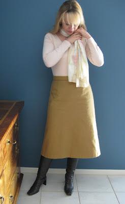 Vintage Simplicity 7142 Midi skirt