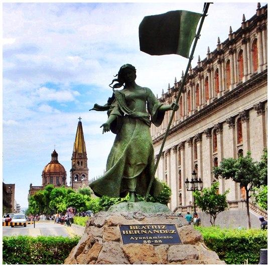 Resultado de imagen de beatriz hernandez fundadora de la ciudad de guadalajara