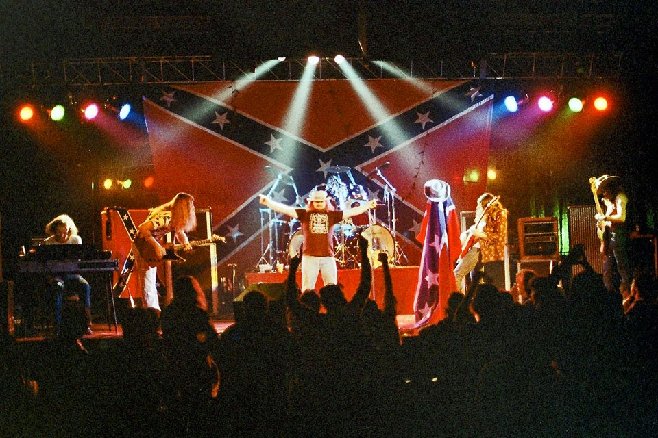 Street Survivors on stage at the Fountain Casino Route 35 North Aberdeen, New Jersey