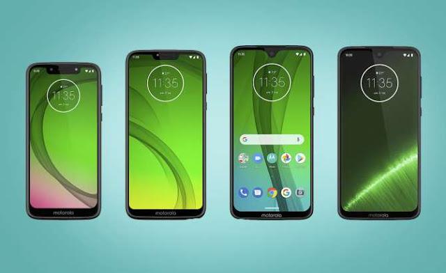 línea de nuevos celulares moto g7
