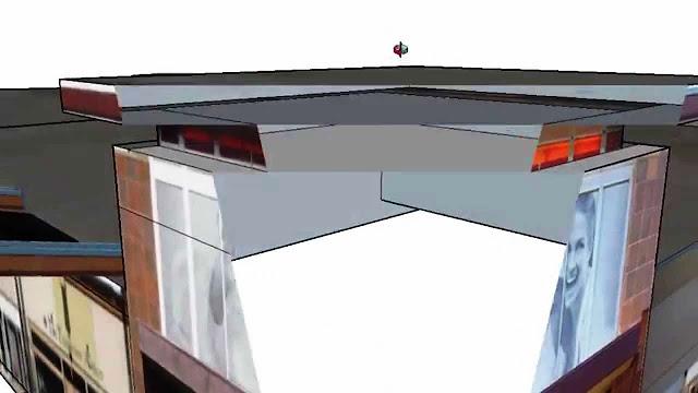 Model SketchUp Terpotong saat Zoom dan Solusinya