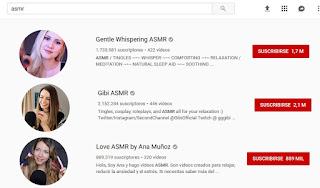 ASMRtists, las mejores Youtubers del ASMR