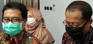 Plt Bupati Dampingi Kadis PTSP Rapat Daring dengan Mendagri RI
