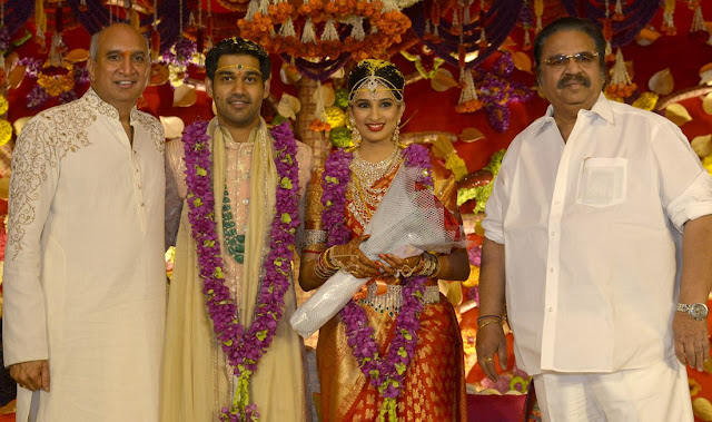 dasari narayana rao at nimmagadda prasad daughter swathi wedding photos