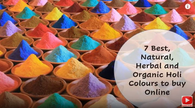 7 Best, Natural, Herbal and Organic Holi Colours to buy Online