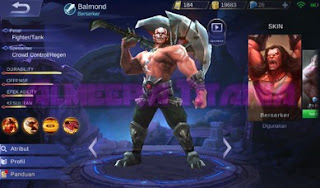 Build Balmond Fighter Terkuat Terbaru