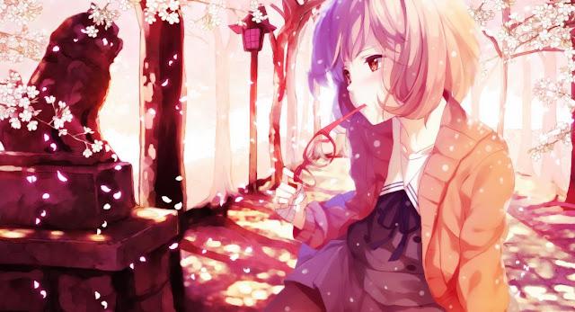 Wallpaper Anime Kyoukai no Kanata Part 1 - Download Batch ...