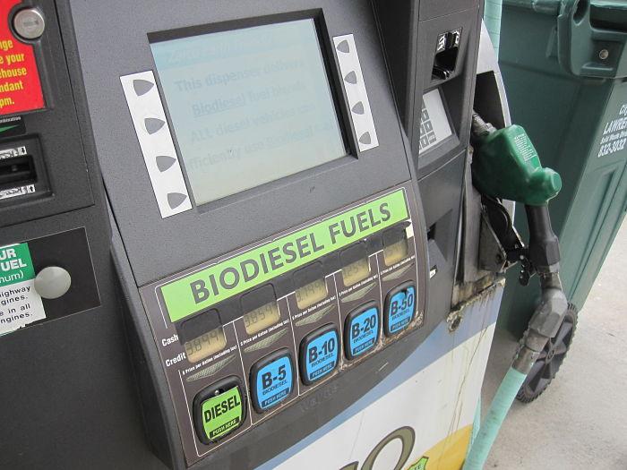 Dispensador comercial de biodiesel