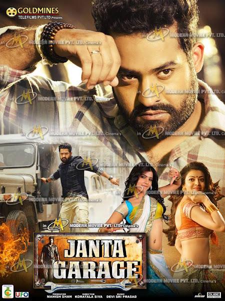 Poster of Janta Garage (Janatha Garage) 2017 Hindi Dubbed 720p HDRip