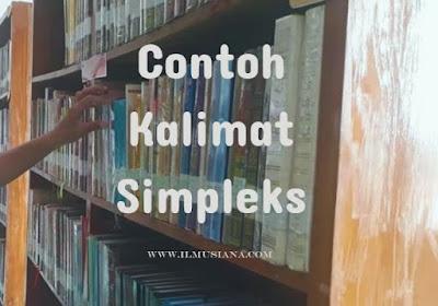 Contoh Kalimat Simpleks