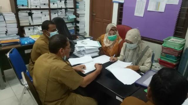 DPMG Lakukan Asistensi RAPBG Tahun 2021 Gampong Batoh