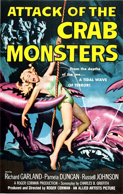 Poster - Attack of the Crab Monsters (1957)