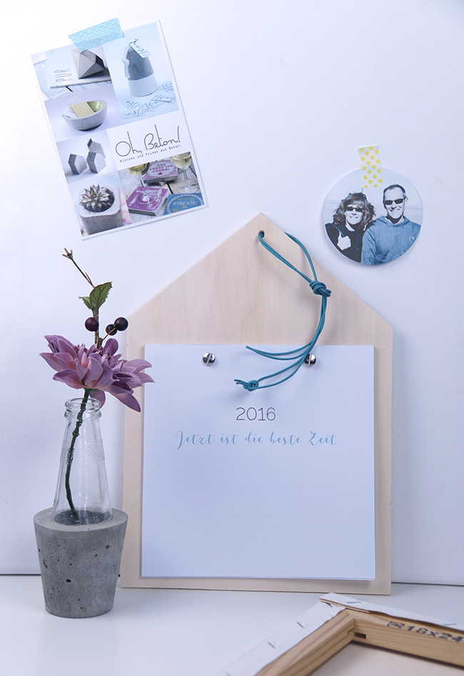 Ynas Design Blog | DIY Kalender 2016