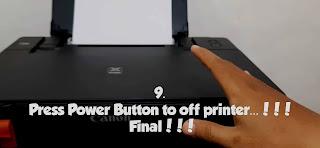 printer G1000 ERROR 5B00