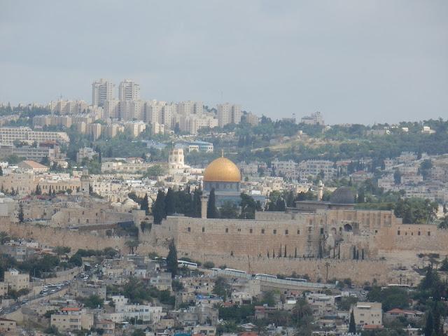 Panoramica de Jerusalem, Israel, Elisa N, Blog de Viajes