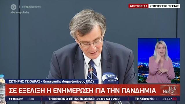 Τι ανακοίνωσε για το Κρανίδι ο Σωτήρης Τσιόδρας (βίντεο)