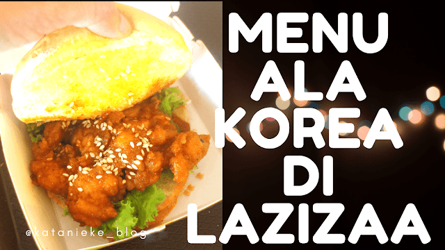 Korean Burger di Lazizaa