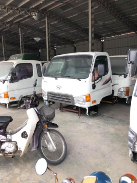 Mua bán cabin xe tải Hyundai