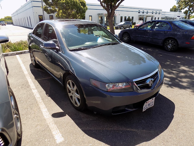 Acura TSX after complete car paint job at Almost Everything Auto Body.