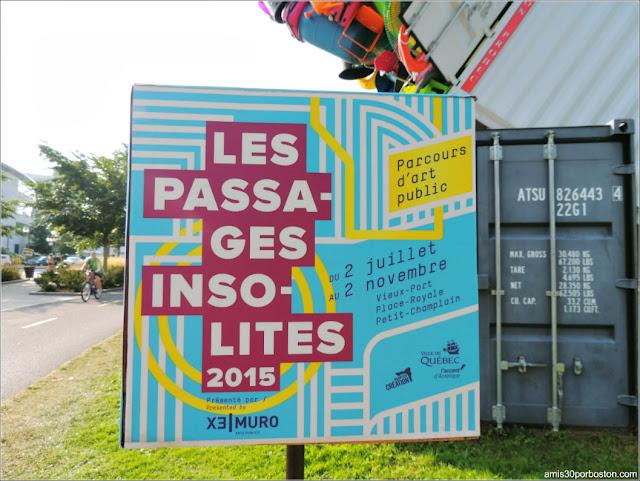 Cartel del Evento Les Passages Insolite en Quebec