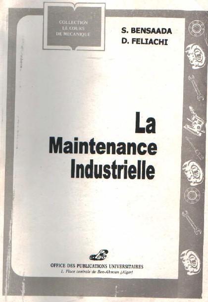 Top Télécharger Livre : La Maintenance Industrielle en PDF ~ Cours D  GL34