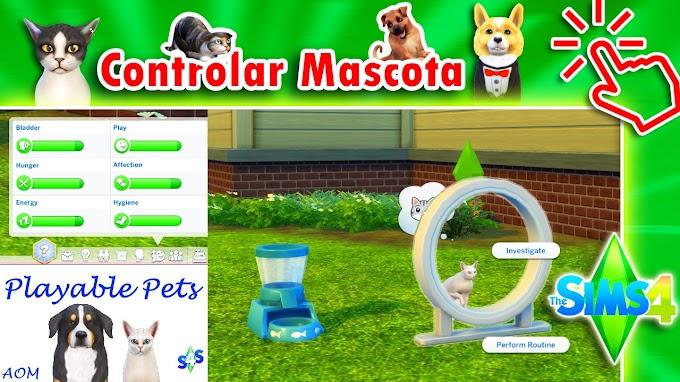 ▷ Controlar Mascotas en Los Sims 4 🌠【 Desbloquear Mascotas para ser Seleccionables / Jugables 】Tutorial ☑️