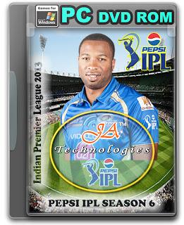 Download Pepsi Indian Premier League Season 6 (2013) IPL 6 for PC/Windows