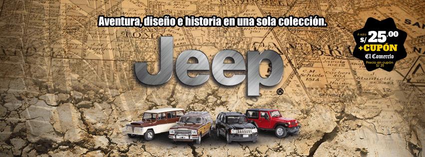 coleccion jeep 1:43 el comercio