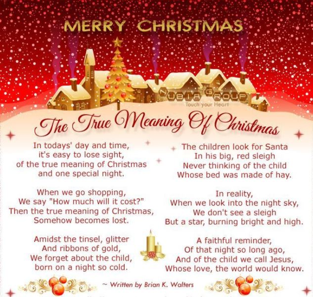 merry christmas meaning