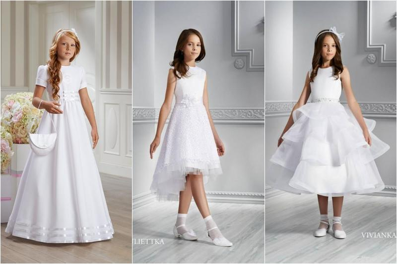 cbf501304f Idealna sukienka komunijna - skromna a zarazem elegancka!