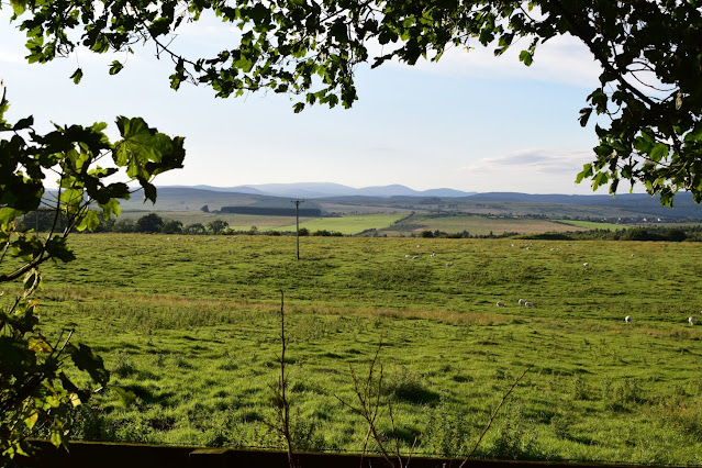 My first Air BnB Experience at Simonside Cottage in Rothbury views