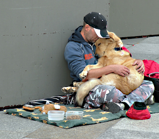 The kindhearted homeless