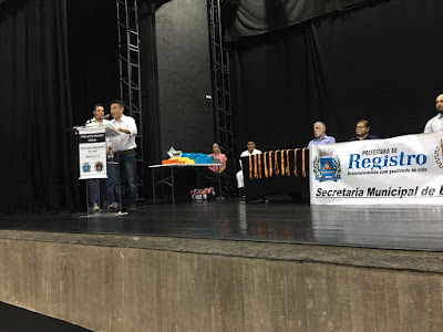 Escolinha Municipal de Judô de Registro-SP realiza entrega de faixas