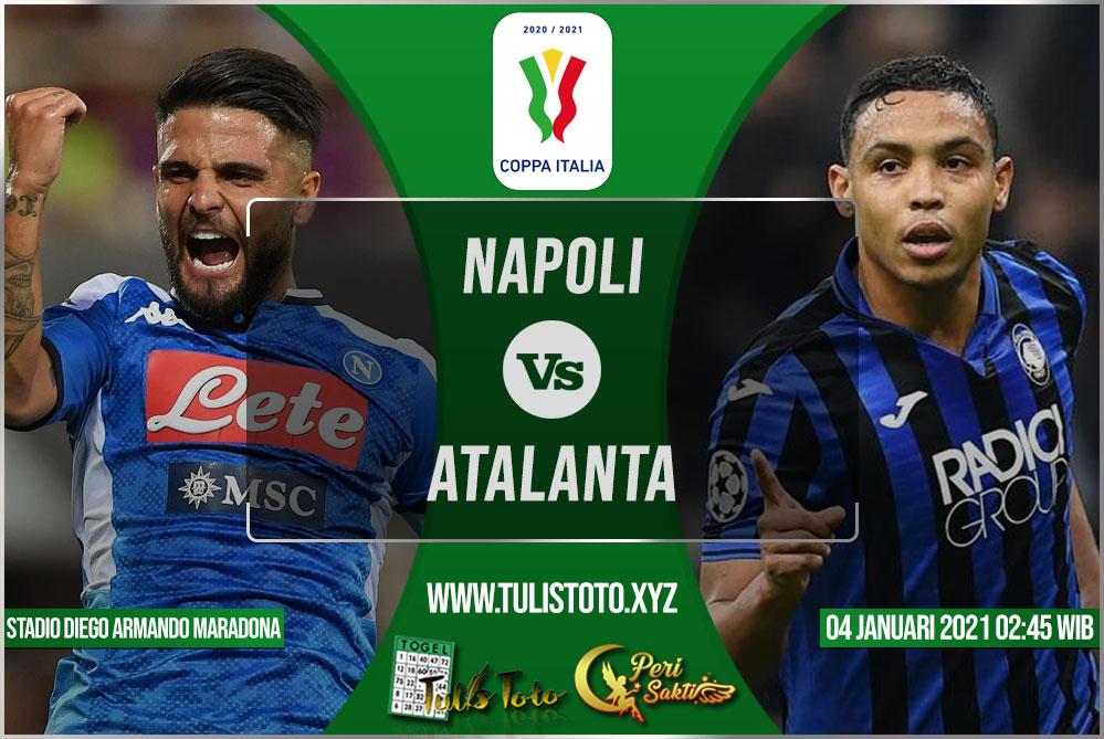 Prediksi Napoli vs Atalanta 04 Februari 2021