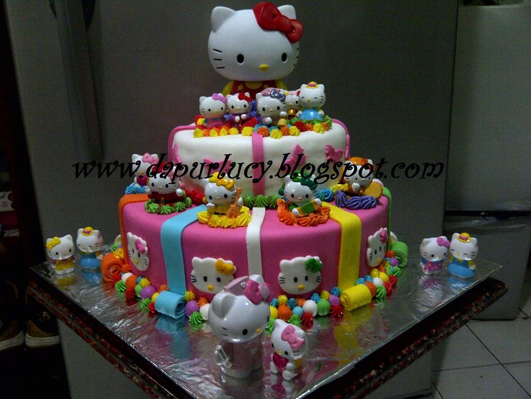 Dapur Lucy Hello Kitty Cake For Callista