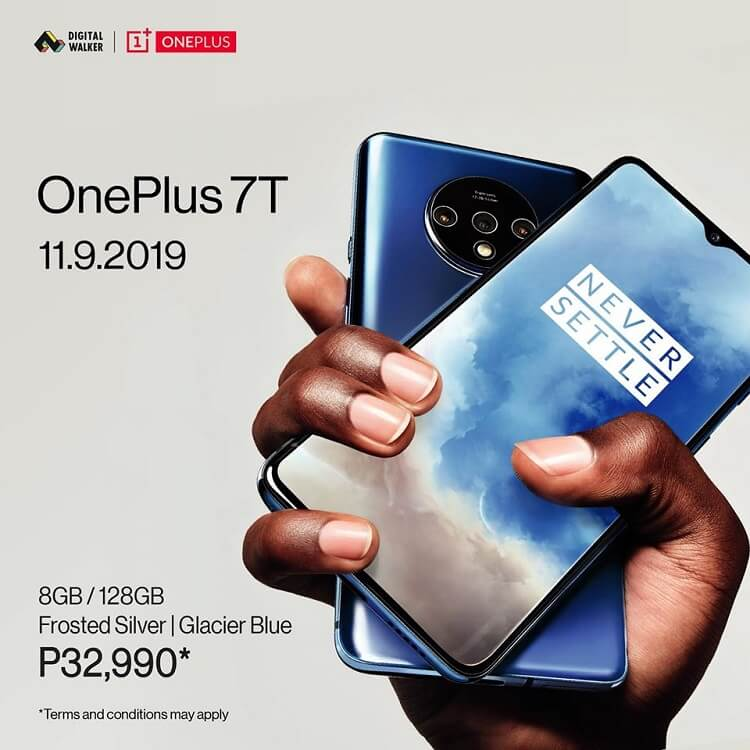 OnePlus 7T Price and Availability in the Philippines