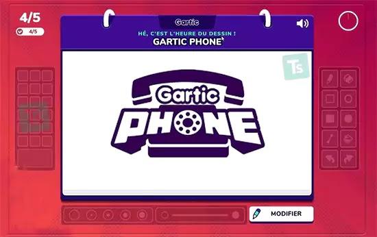 رسم لعبة الهاتف المكسور