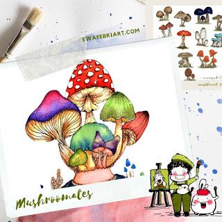 Mushroomates
