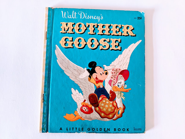picture of vintage children's book on white background