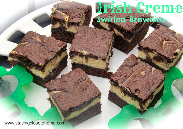 Irish Cream dessert, Leprechauns