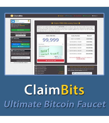 Claimbits - Ultimate Bitcoin Faucet Free Script Download