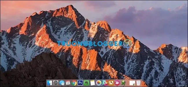 Ghost Windows 7 giao diện MacOS X - Full Soft, No Driver