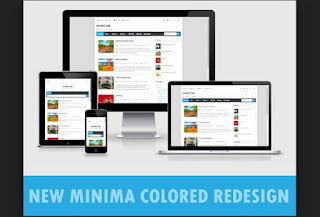 Download Template New Minima Colored Redesign Gratis
