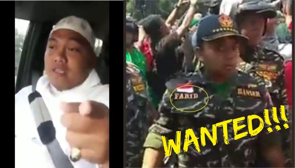 Farid Oknum Banser Juga Ditantang Pengurus MUI Tangerang Yang Bela FPI, Akan Disiapkan Tiket Pesawat!