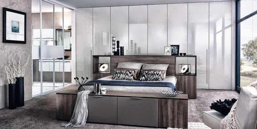Fotos de dormitorios modernos y elegantes colores en casa for Dormitorios elegantes