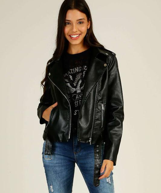 Inspirada nas jaquetas usadas pelos motocilistas da década de 50, a biker é uma peça de estilo rock