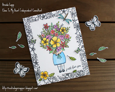 For My Beautiful Friend Just For You card